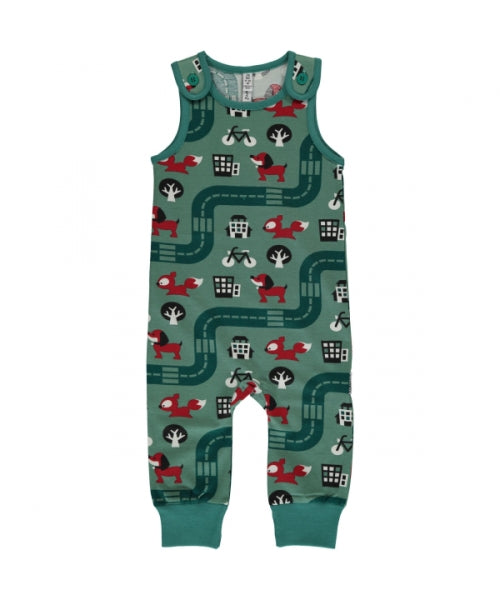 Maxomorra Playsuit Big City - little-tiger-togs