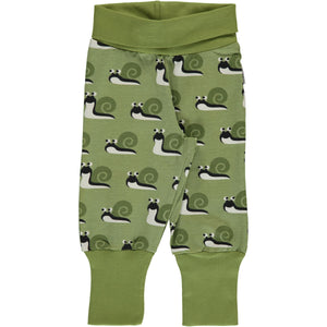 Maxomorra Pants Rib Snail - little-tiger-togs