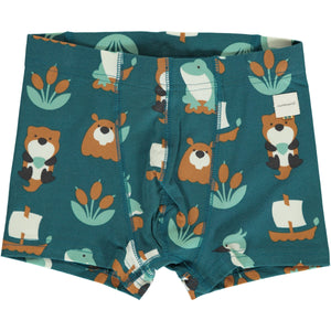 Maxomorra Boxer Shorts Lake Life - little-tiger-togs