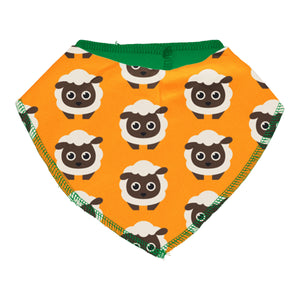 Maxomorra Dribble Bib Classic Sheep