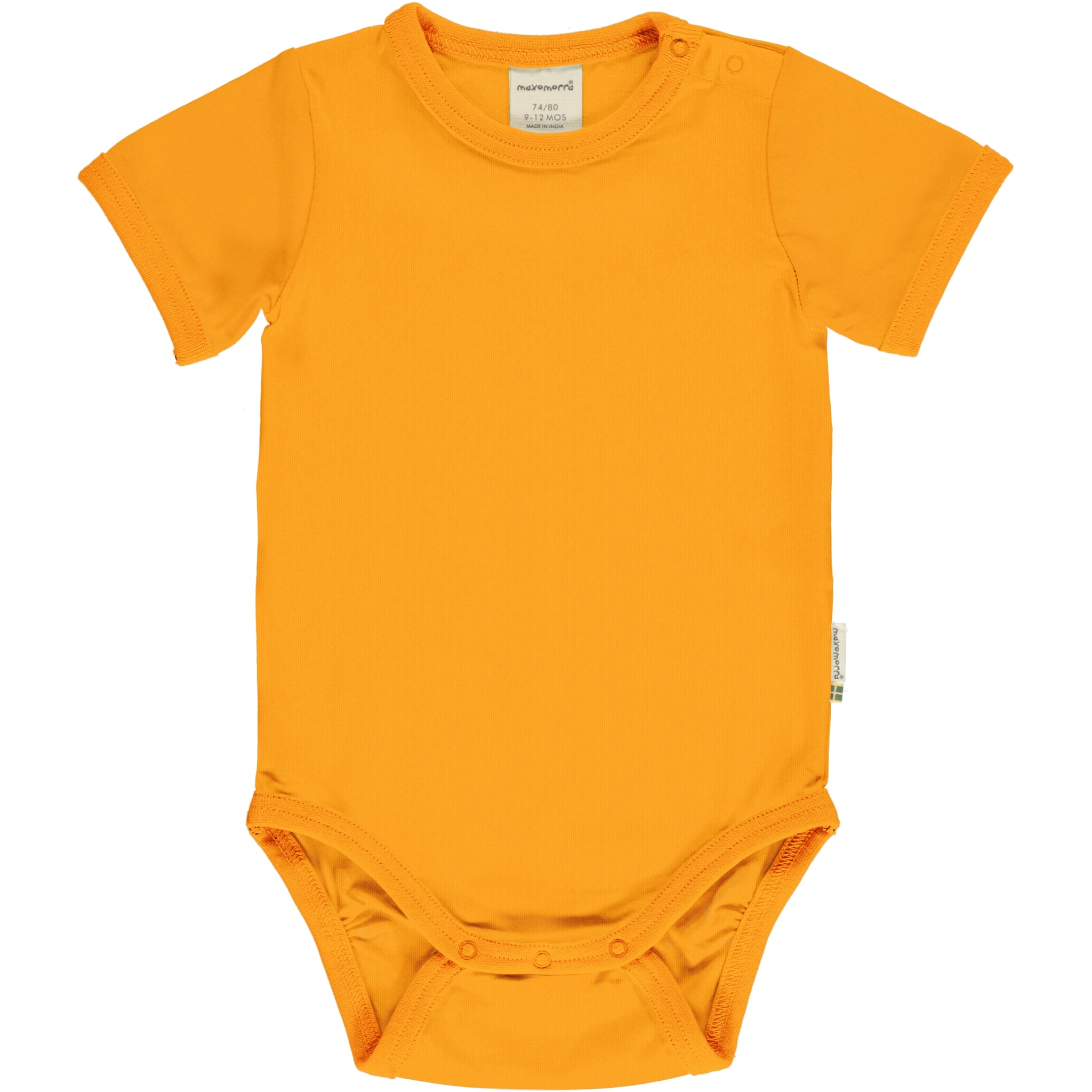 Maxomorra Body SS Classic Solid Tangerine