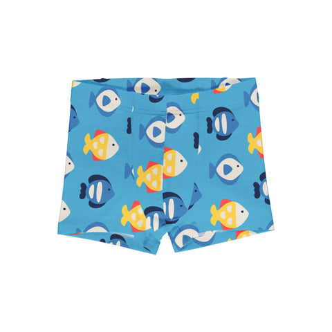 Maxomorra Boxer Shorts Tropical Aquarium