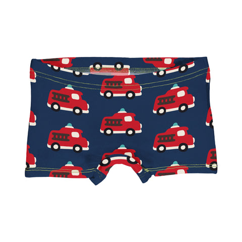 Maxomorra Brief Boxers Fire Truck,little-tiger-togs.
