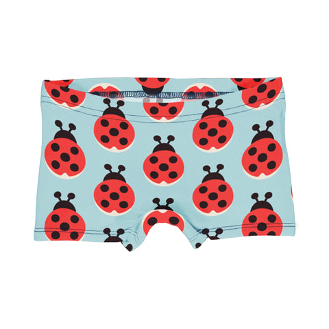 Maxomorra Brief Boxers Lazy Ladybug,little-tiger-togs.