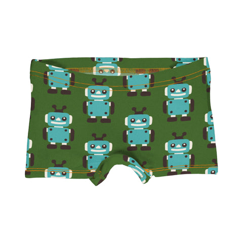 Maxomorra Brief Boxers Robot,little-tiger-togs.