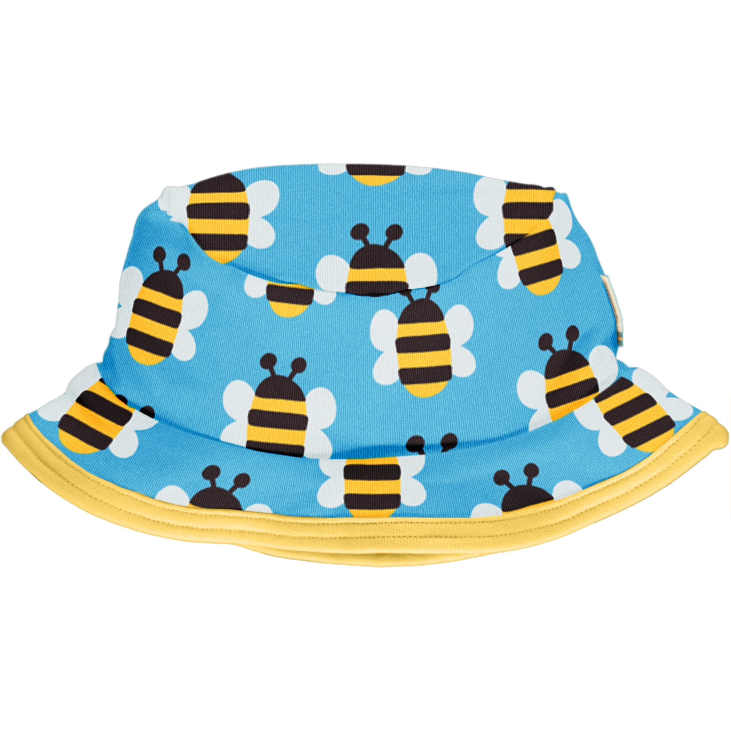 Maxomorra Sun Hat Humble Bumblebee,little-tiger-togs.