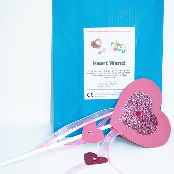Paper Town Heart Wand - little-tiger-togs