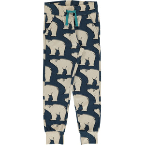 Maxomorra Sweat Pants Polar Bear **,little-tiger-togs.