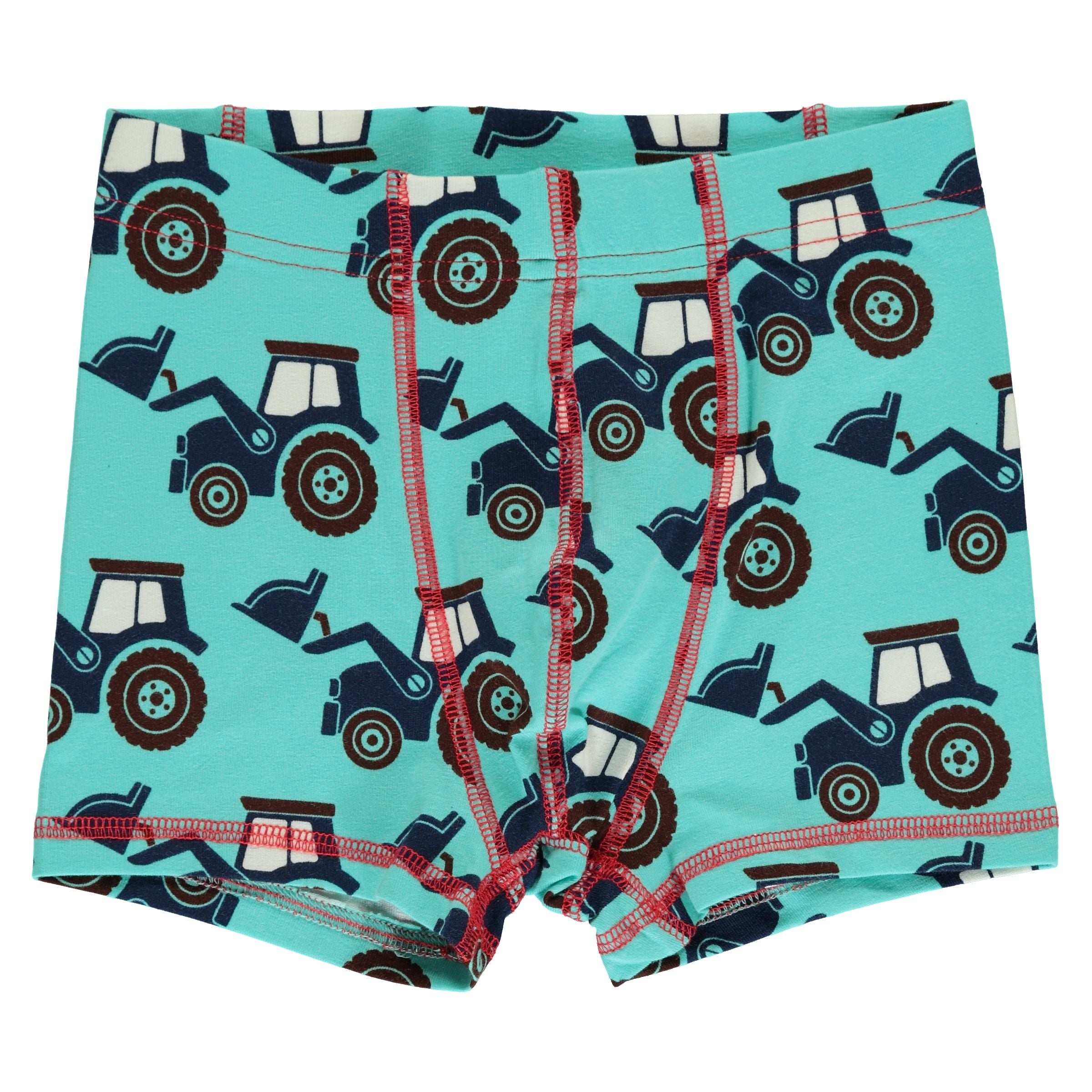 Maxomorra Boxer Shorts Classic Tractor,little-tiger-togs.