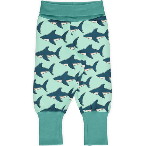 Maxomorra Pants Rib Shark