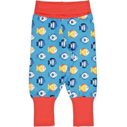 Maxomorra Pants Rib Tropical Aquarium