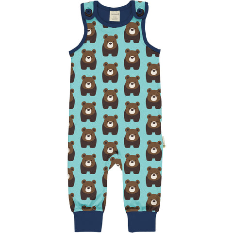Maxomorra Playsuit Bear