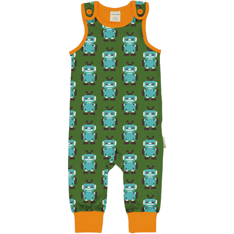 Maxomorra Playsuit Robot,little-tiger-togs.