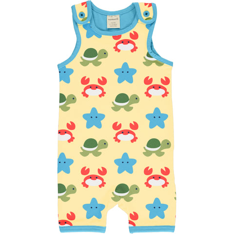 Maxomorra Playsuit Short Beach Buddies