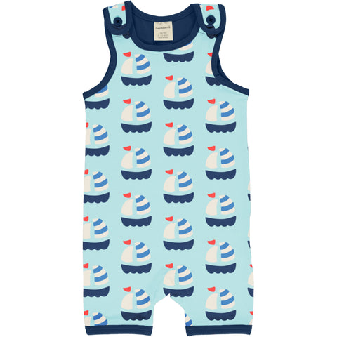 Maxomorra Playsuit Short Sailboat