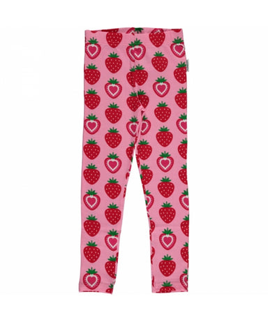 Maxomorra Leggings Strawberry - little-tiger-togs