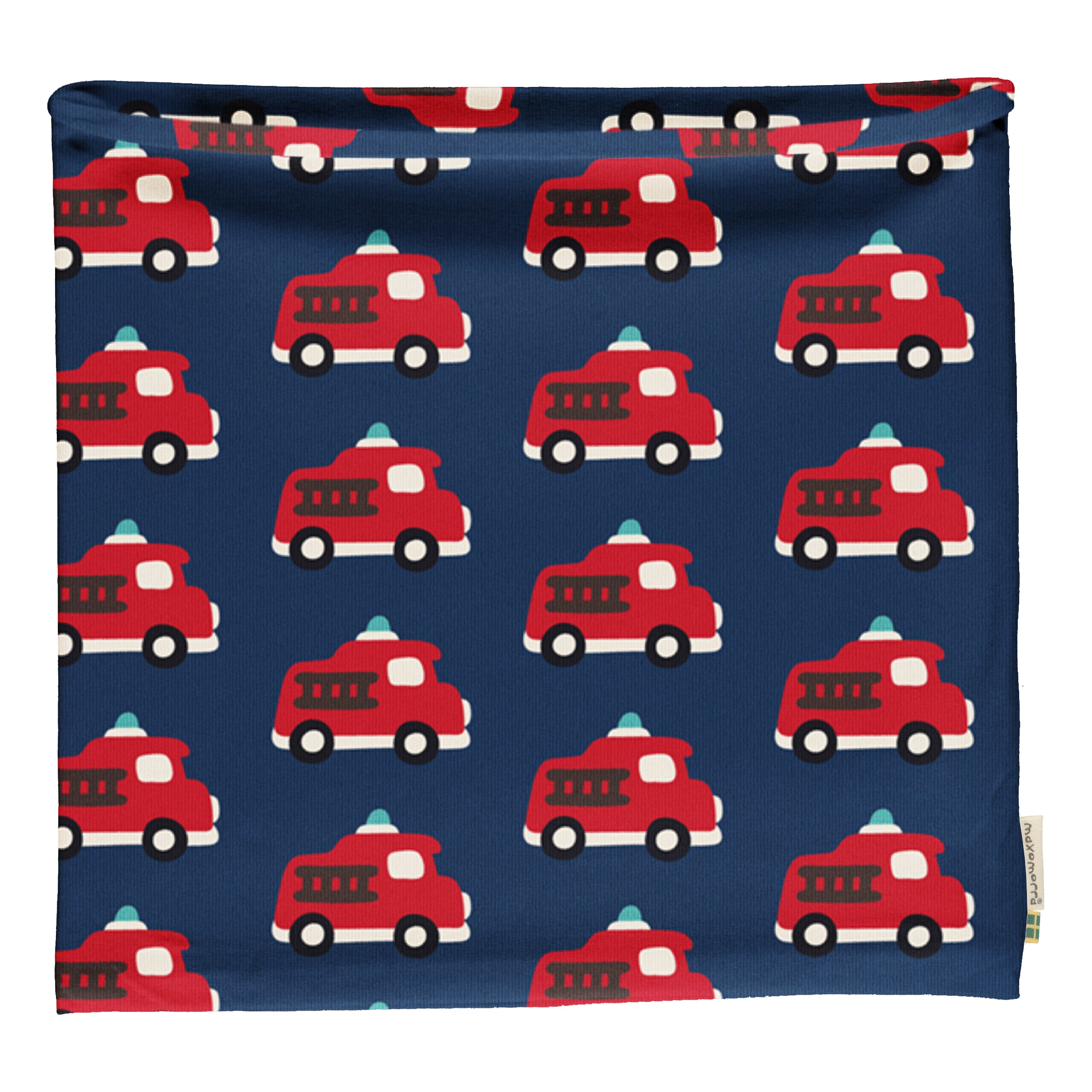 Maxomorra Scarf Tube Fire Truck,little-tiger-togs.