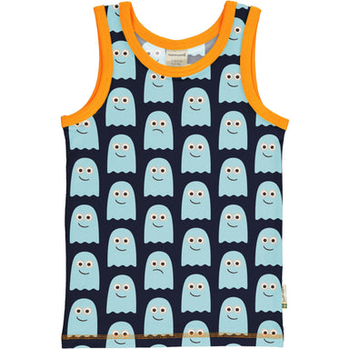 Maxomorra Tanktop Classic Ghost,little-tiger-togs.