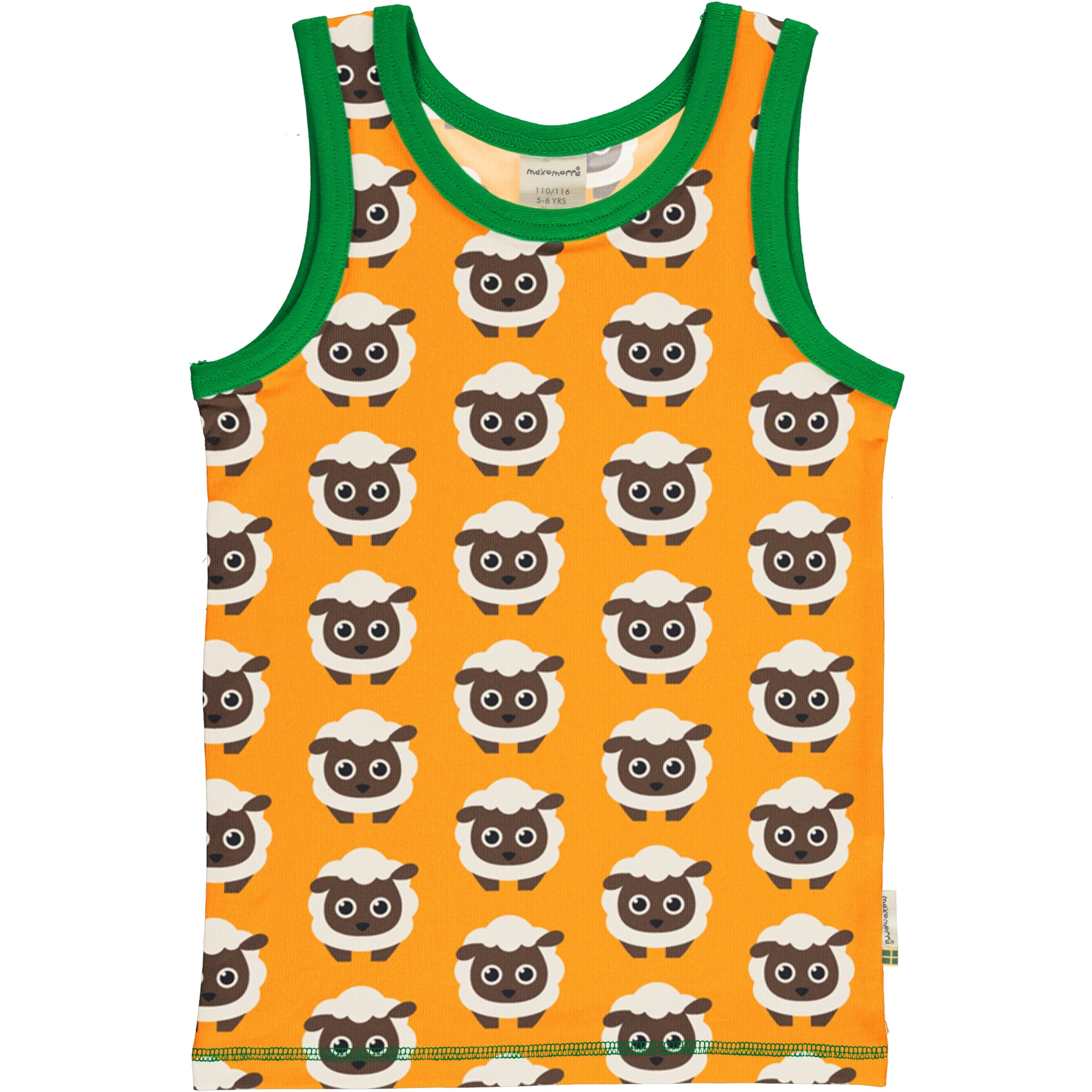 Maxomorra Tanktop Classic Sheep,little-tiger-togs.
