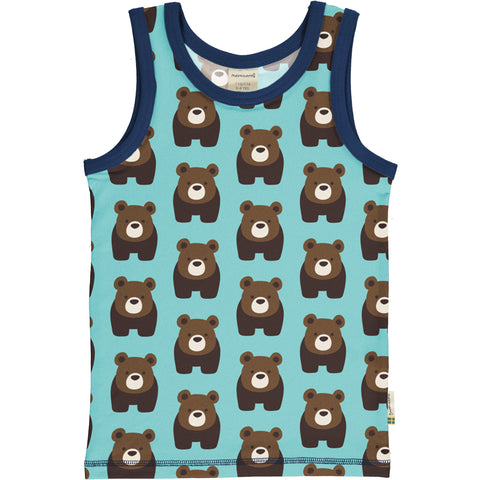 Maxomorra Tanktop Bear