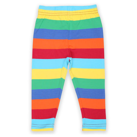 Toby Tiger Leggings Multi Stripe - little-tiger-togs