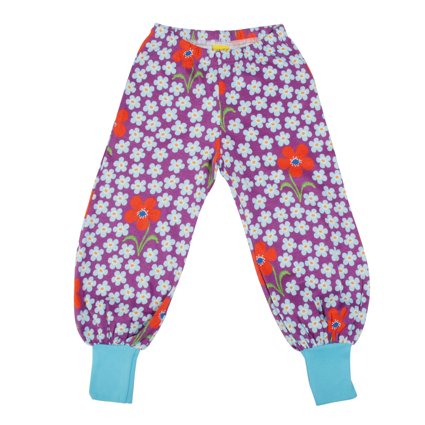 DUNS Sweden Baggy Pants Flower Amethyst,little-tiger-togs.