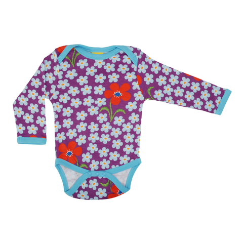 DUNS Sweden Body LS Flower Amethyst,little-tiger-togs.