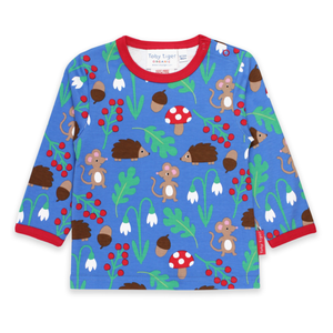 Toby Tiger T-Shirt LS Woodland,little-tiger-togs.