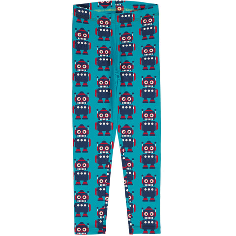 Maxomorra Leggings Classic Robot