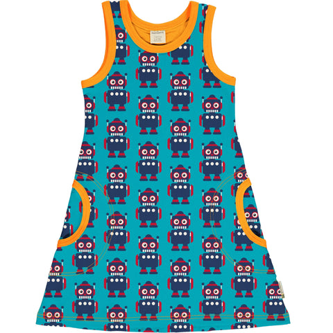 Maxomorra Dress NS Classic Robot