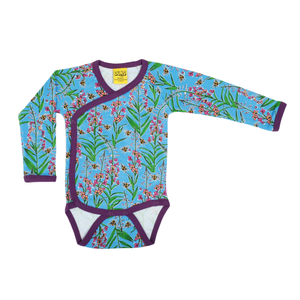 DUNS Sweden Kimono Body LS Willowherb Blue,little-tiger-togs.