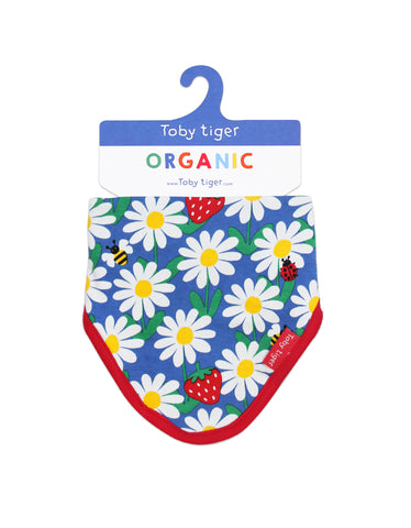 Toby Tiger Dribble Bib blue Daisy
