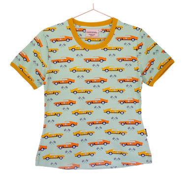 Moromini T-Shirt SS 70's Dream (Adult),little-tiger-togs.