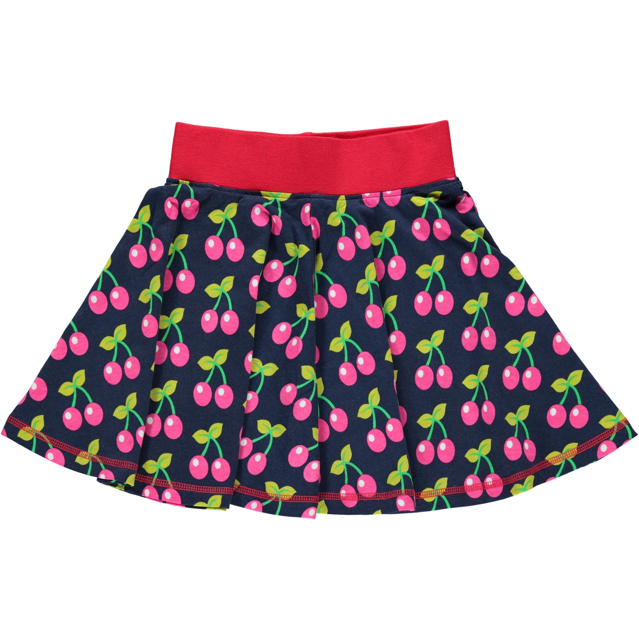 Maxomorra Skirt Spin Cherry (80) - little-tiger-togs