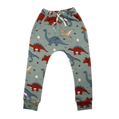 Walkiddy Baggy Pants Funny Dinosaur,little-tiger-togs.