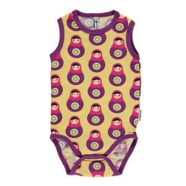 Maxomorra Body Tanktop Babushka - little-tiger-togs