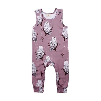 Walkiddy Dungarees Snowy Owls,little-tiger-togs.