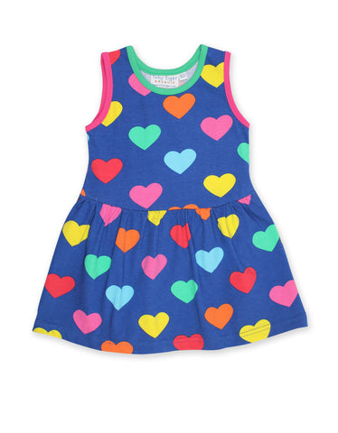 Toby Tiger Twirl Dress Multi Heart