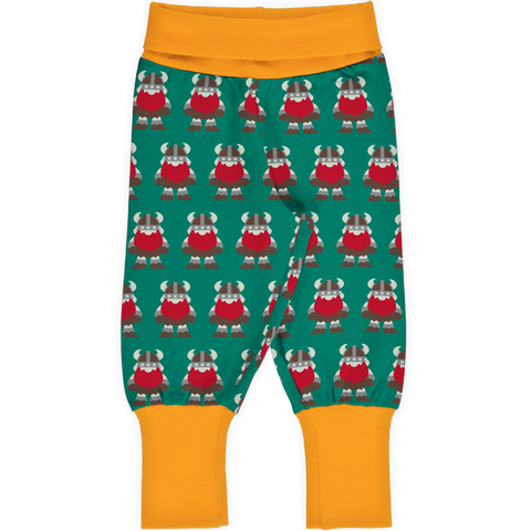 Maxomorra Pants Rib Classic Viking,little-tiger-togs.