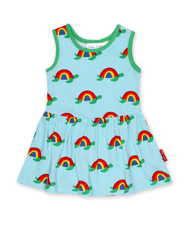 Toby Tiger Twirl Dress Multi Turtle