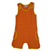 Moromini Playsuit Short Terry Orange,little-tiger-togs.