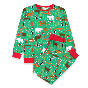 Toby Tiger Pyjamas Christmas (Adult)