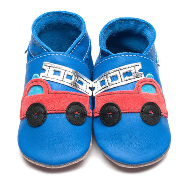 Inch Blue Shoe Fire Truck Blue,little-tiger-togs.