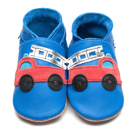Inch Blue Shoe Fire Truck Blue