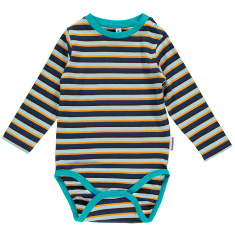 Maxomorra Body LS Blue Mix - little-tiger-togs
