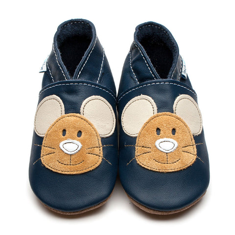 Inch Blue Shoe Squeak Navy