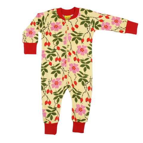 DUNS Sweden Zip Suit Rosehip,little-tiger-togs.