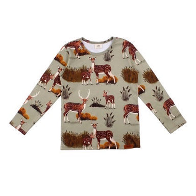 Walkiddy Shirt LS Deer Family,little-tiger-togs.