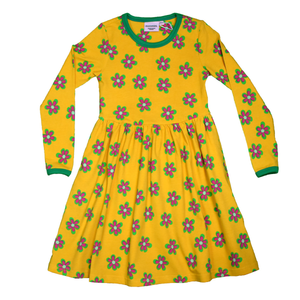 Moromini Twirly Dress LS Forest Flowers,little-tiger-togs.