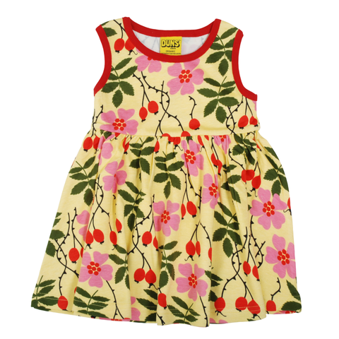 DUNS Sweden Dress Twirly Sleeveless Rosehip,little-tiger-togs.